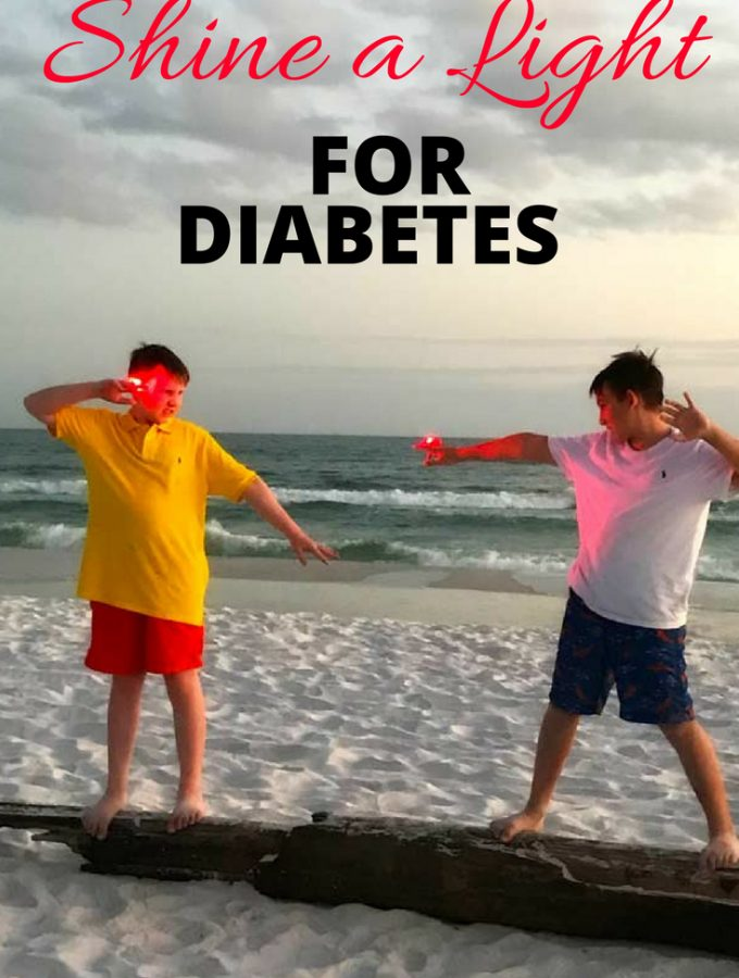 Shine a Light for Diabetes