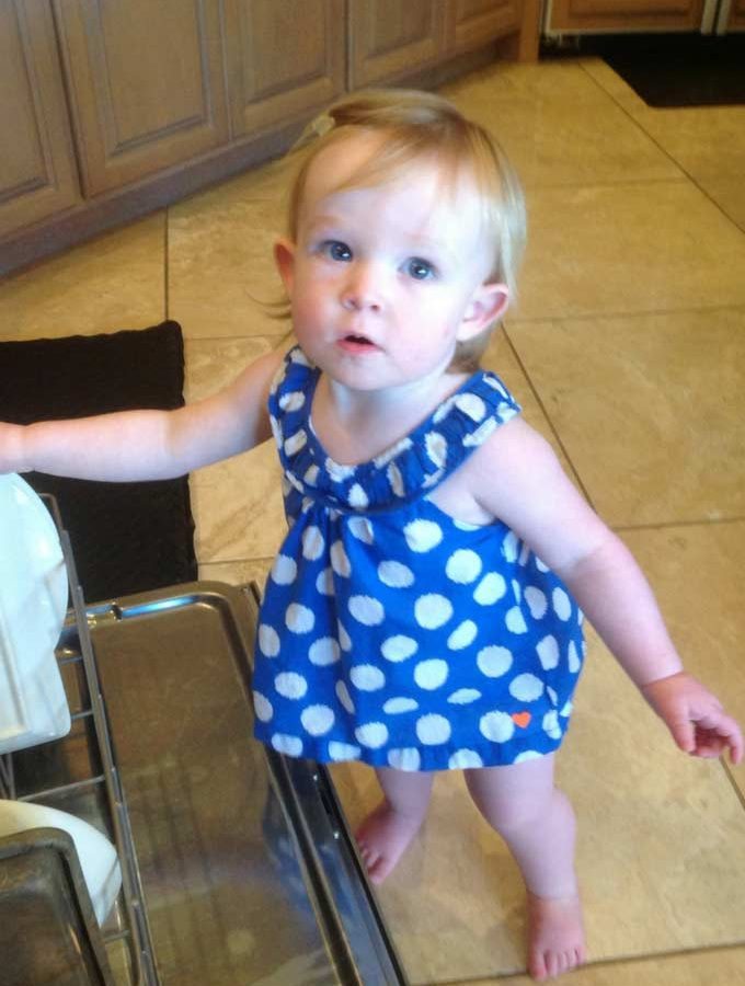 Babys First:  Skye Begins to Walk (A Reflection)