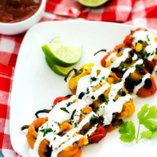 Southwestern Stuffed Mini-Peppers