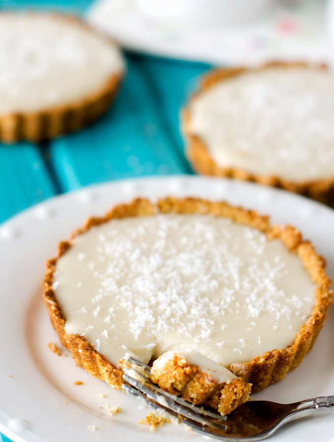 Coconut Cream Quinoa Tartletts