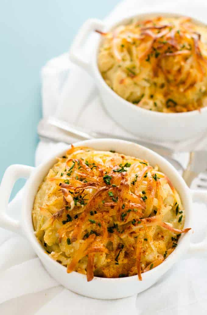 Mashed-Potato Gratin Recipe — Dishmaps