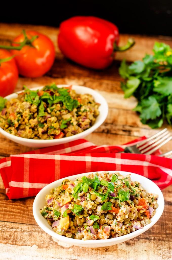Quinoa Protein Power Bowl Wendy Polisi
