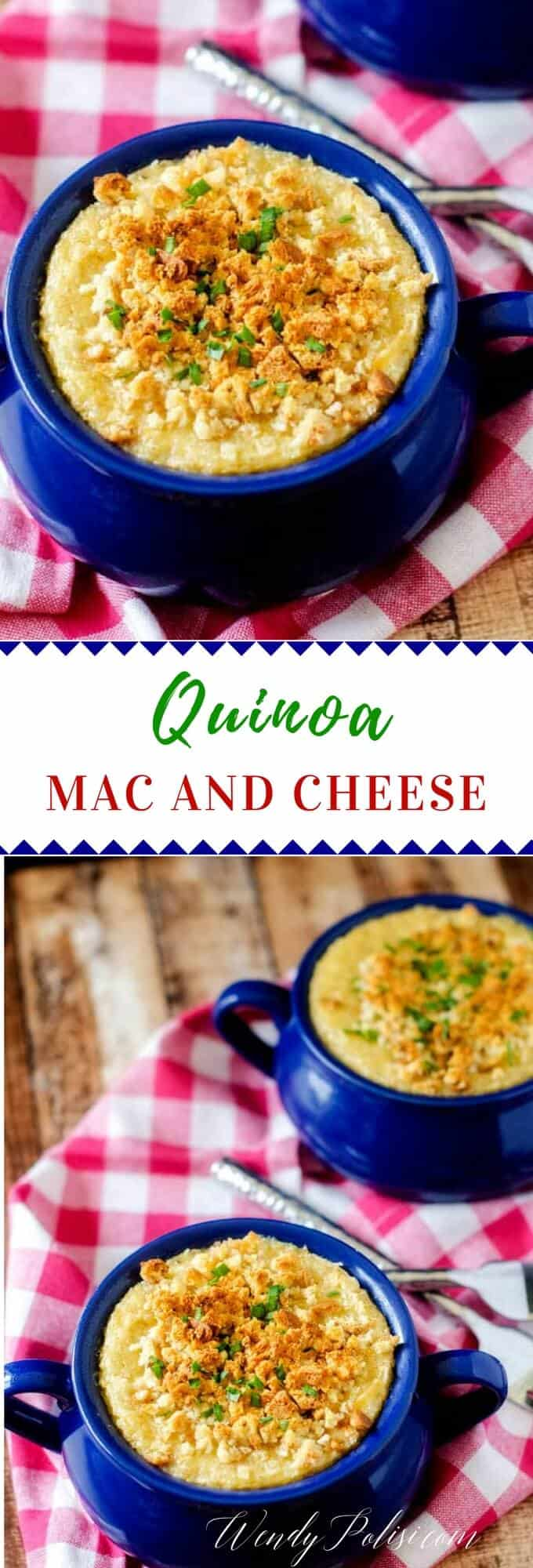 This Quinoa Mac n Cheese offers all the creamy yumminess of traditional Mac n Cheese with the health benefits of quinoa. A favorite quinoa recipe for kids. #glutenfree #quinoa #quinoarecipes #vegetarian