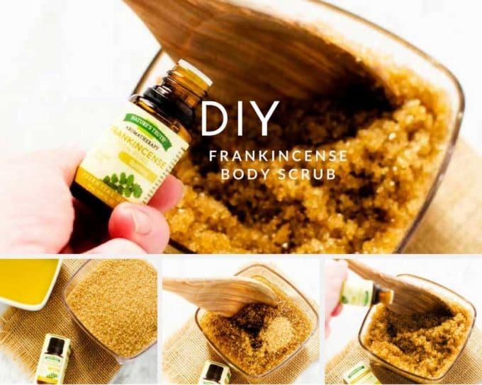 DIY Frankincense Body Scrub