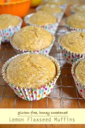 lemon-flaxseed-muffins-gluten-free-honey-sweetened
