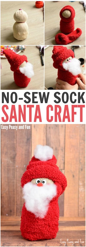 no-sew-sock-santa-craft-for-your-little-ones