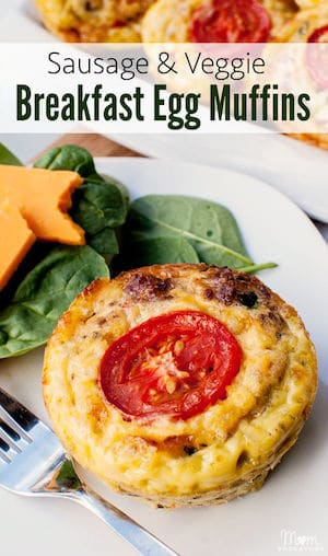 Mom Endeavors – Gluten Free Sausage and Vegetable Breakfast Egg ...