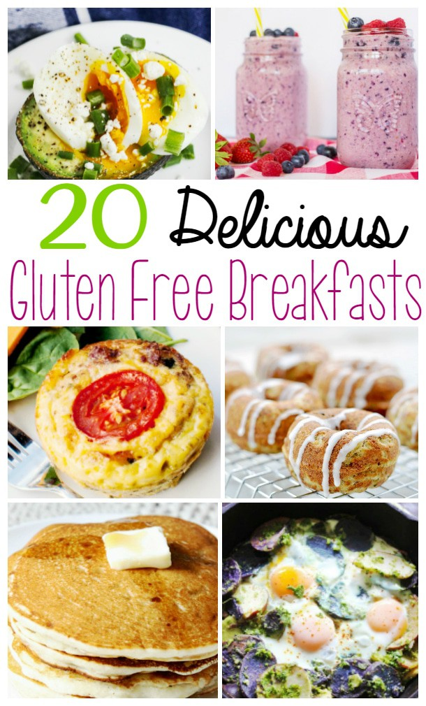 Gluten Free Breakfast Recipes - Looking for delicious gluten free breakfast recipes? Here are 20 recipes to start your day off right!
