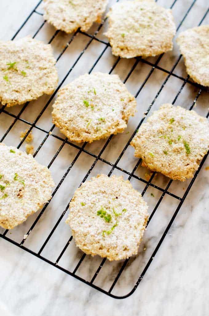Gluten Free Key Lime Cookies