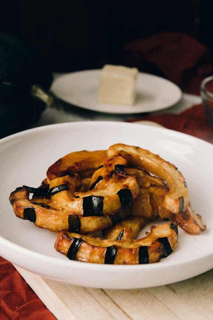 Maple Glazed Acorn Squash