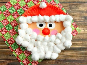 santa-christmas-paper-plate-craft-for-kids-finished