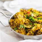 how to make turmeric chicken and quinoa recipe