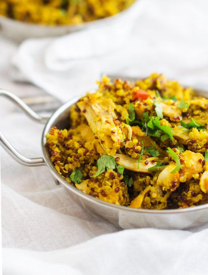 Turmeric Chicken & Quinoa