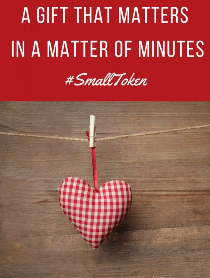 A Gift That Matters in a Matter of Minutes