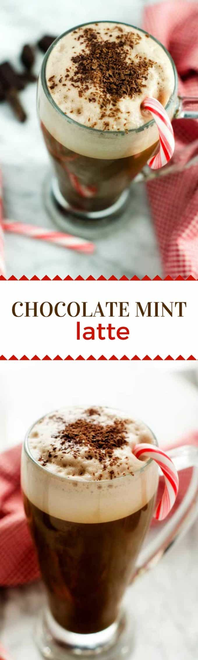 Chocolate Mint Latte + Enter to Win a Ninja Coffee Bar® System #NinjaBarista #IC #ad @ninjacoffeebar