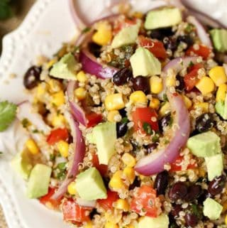 Photo of a quinoa salad - how to cook quinoa in a rice cooker