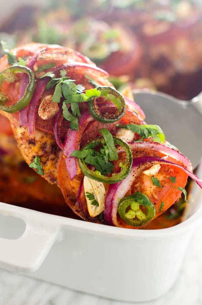 Southwestern Baked Chicken