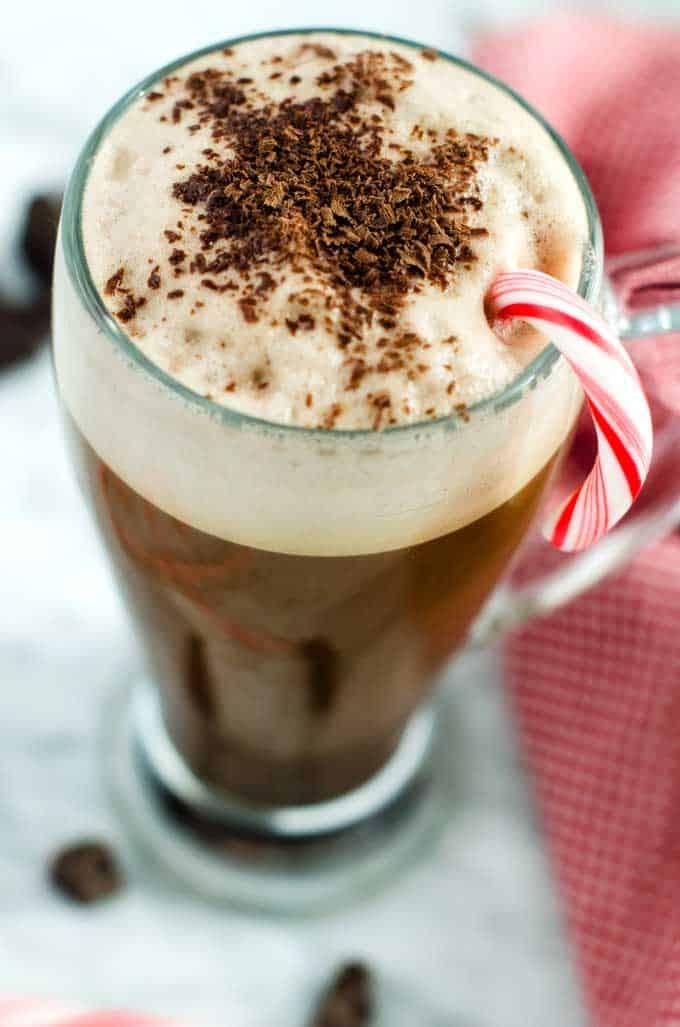 Chocolate Mint Latte