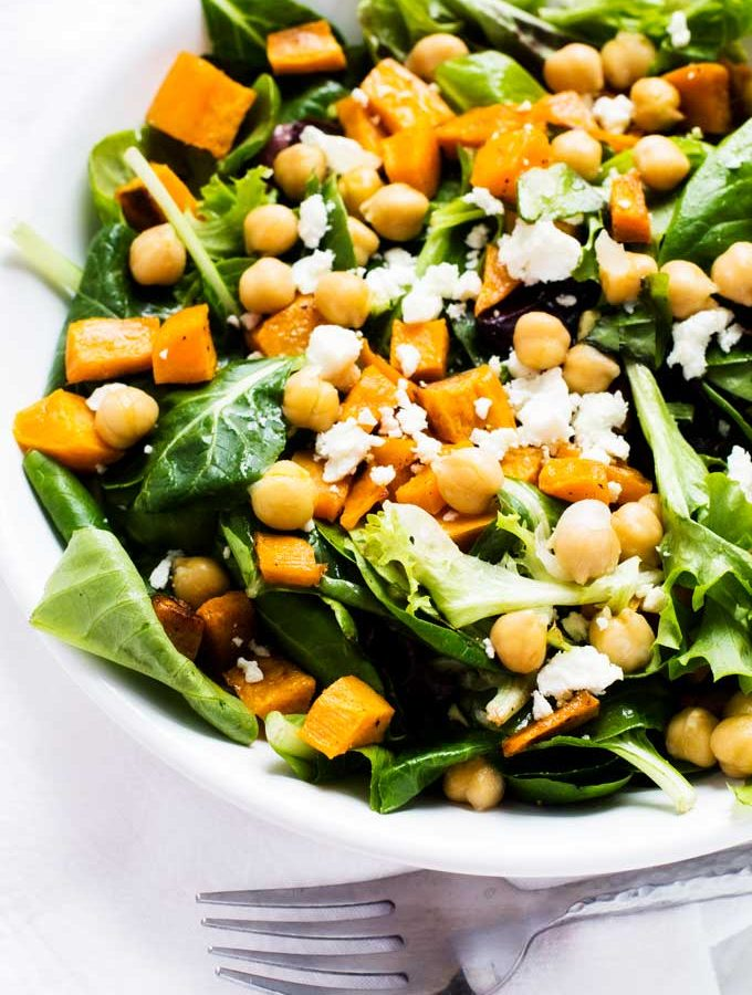 Sweet Potato Chickpea Salad