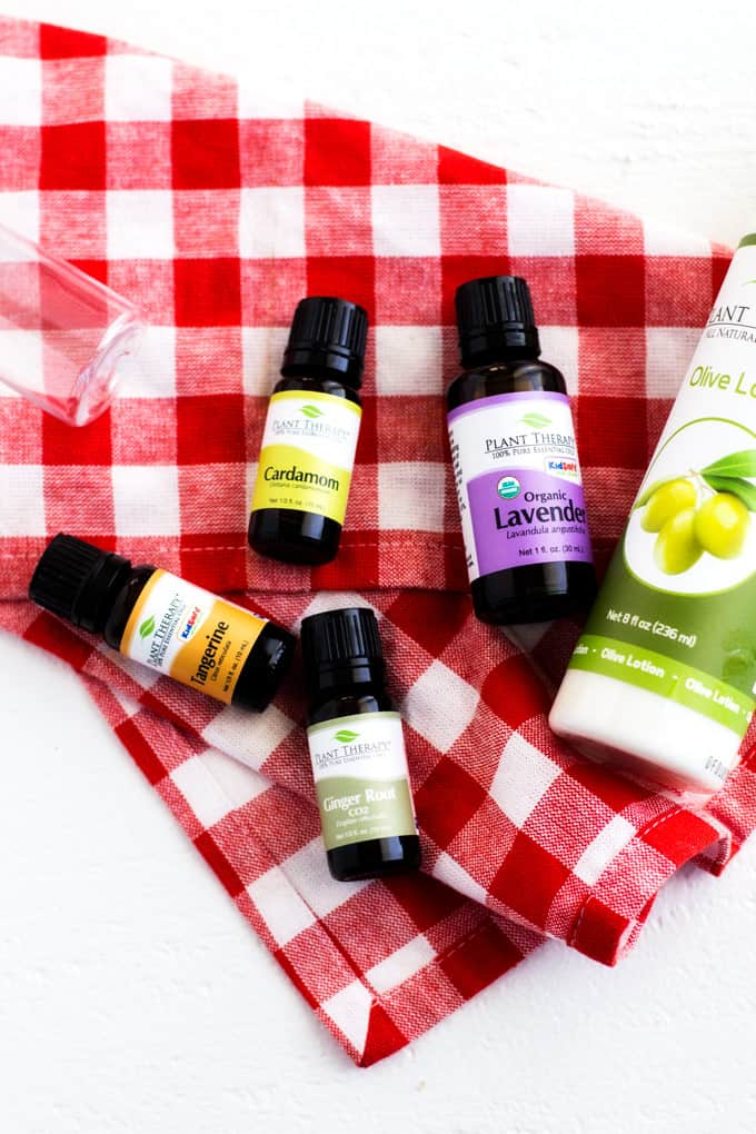 Post-Workout Essential Oil Soothing Blend