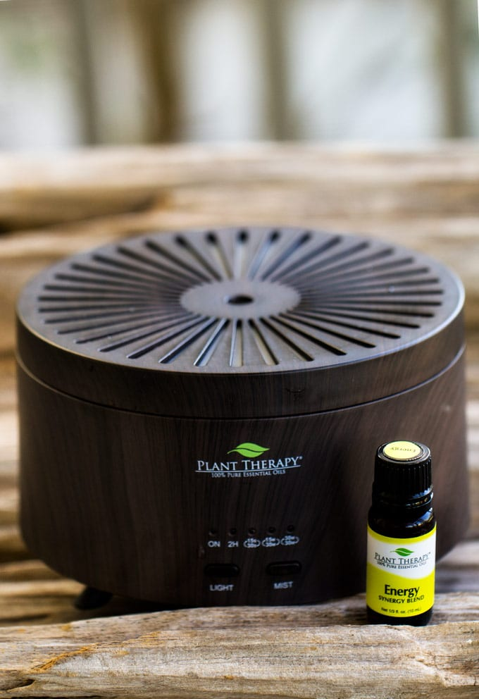 Essential Oil diffuser recipes - Photo of essential oil diffuser.