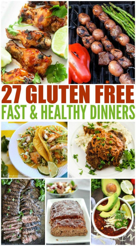 Fast & Healthy Gluten Free Dinners