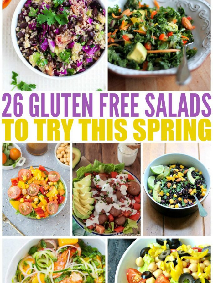 26 Gluten Free Salads to Try This Spring