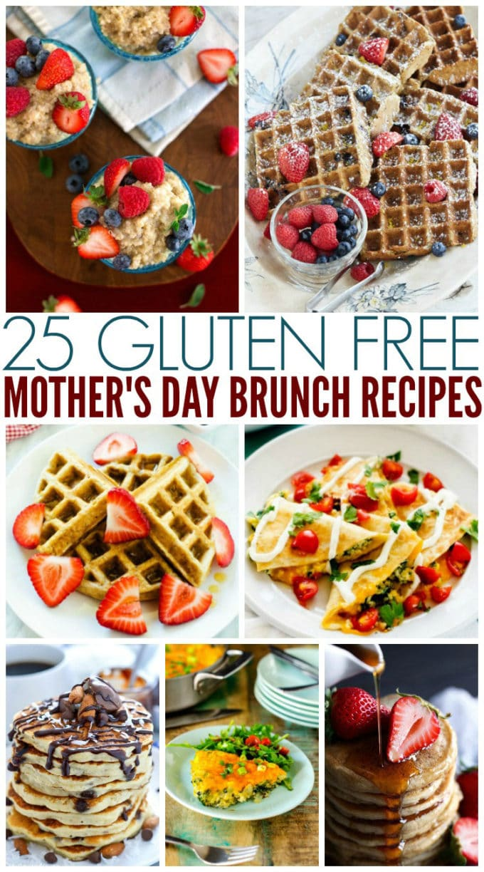 Gluten Free Mother's Day Brunch Recipes