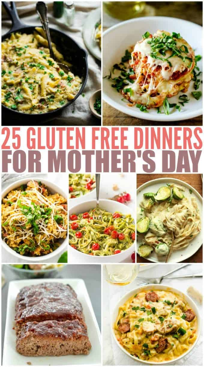 Gluten Free Dinners for Mother's Day