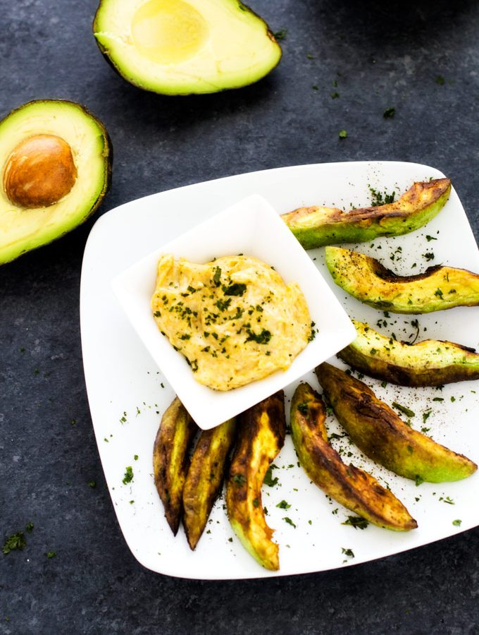 Avocado Fries with Dipping Sauce