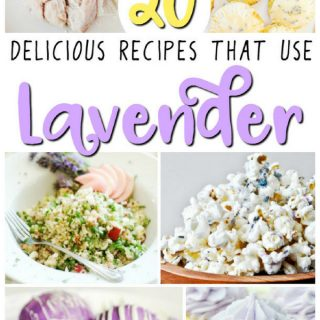 20 Delicious Recipes That Use Lavender