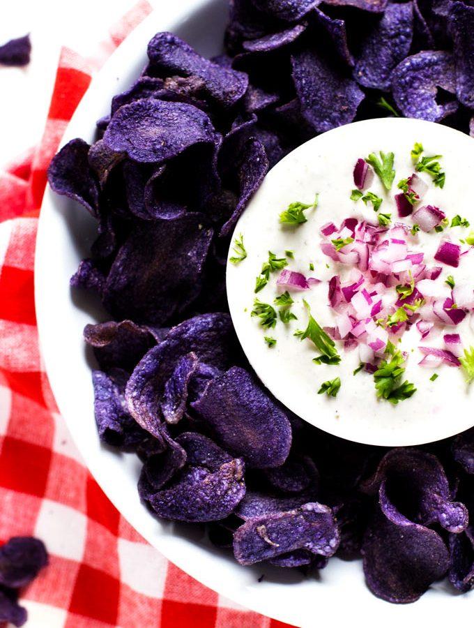 Creamy Garlic Feta Dip