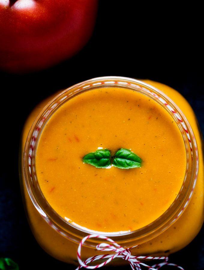 Tomato Garlic Dressing