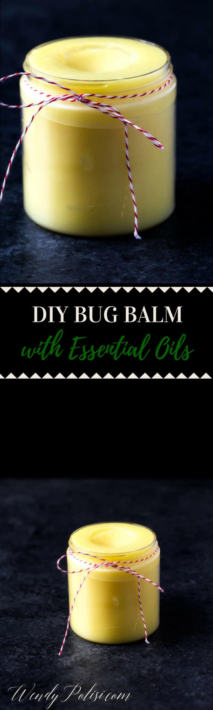 This DIY Bug Balm with Essential Oils is a heavy-duty insect repellant that works on mosquitoes, no-see-ums, biting flies, bees and more!