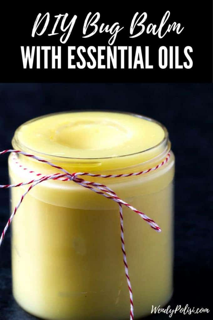 DIY Bug Balm with Essential Oils
