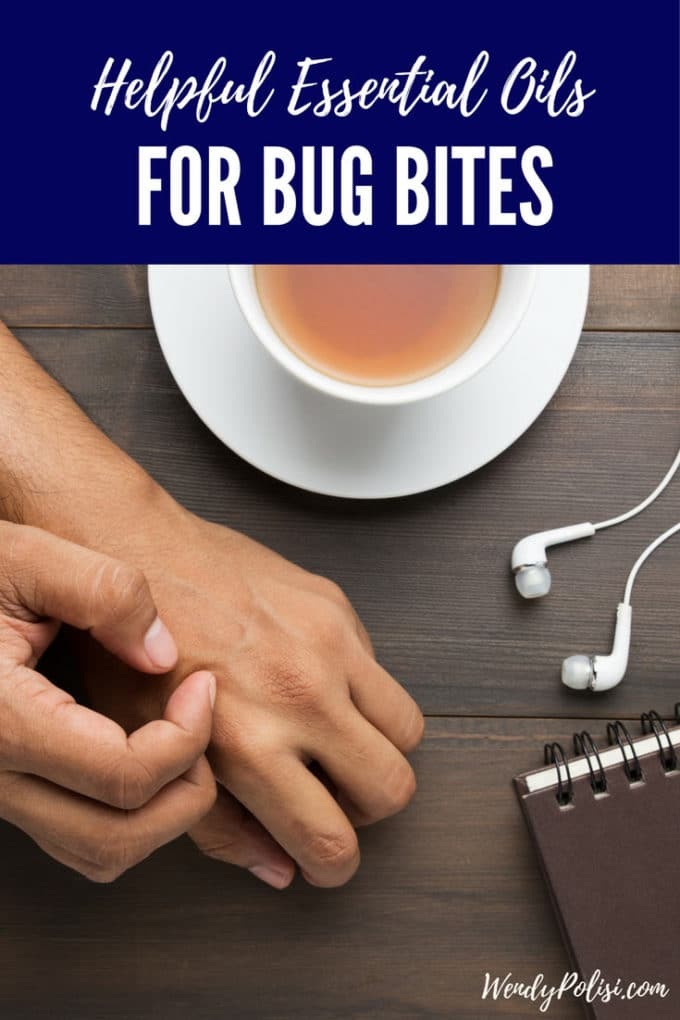 Bug Bites got you down?  Learn about the helpful essential oils for bug bites, and you will get relief in no time!