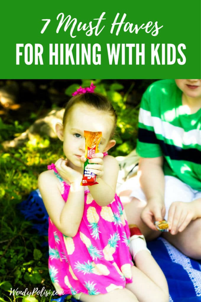 Are you planning on hiking with kids this summer?  Here are 7 things you need to bring along to make sure the how family has fun outdoors!