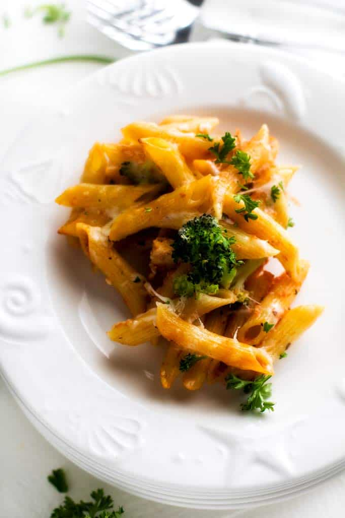 Kid Approved Chicken Broccoli Penne (That Won't Wreck Your Budget)