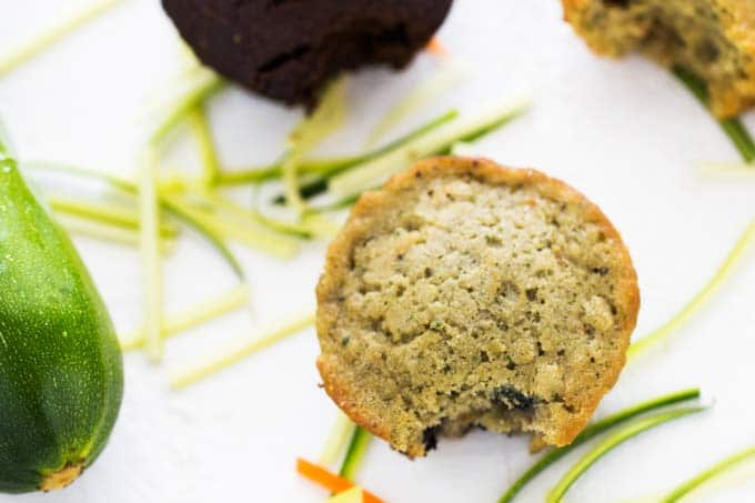 Blueberry Garden Lites Veggie Muffin