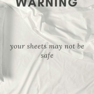 Warning:  Your Sheets May Not Be Safe