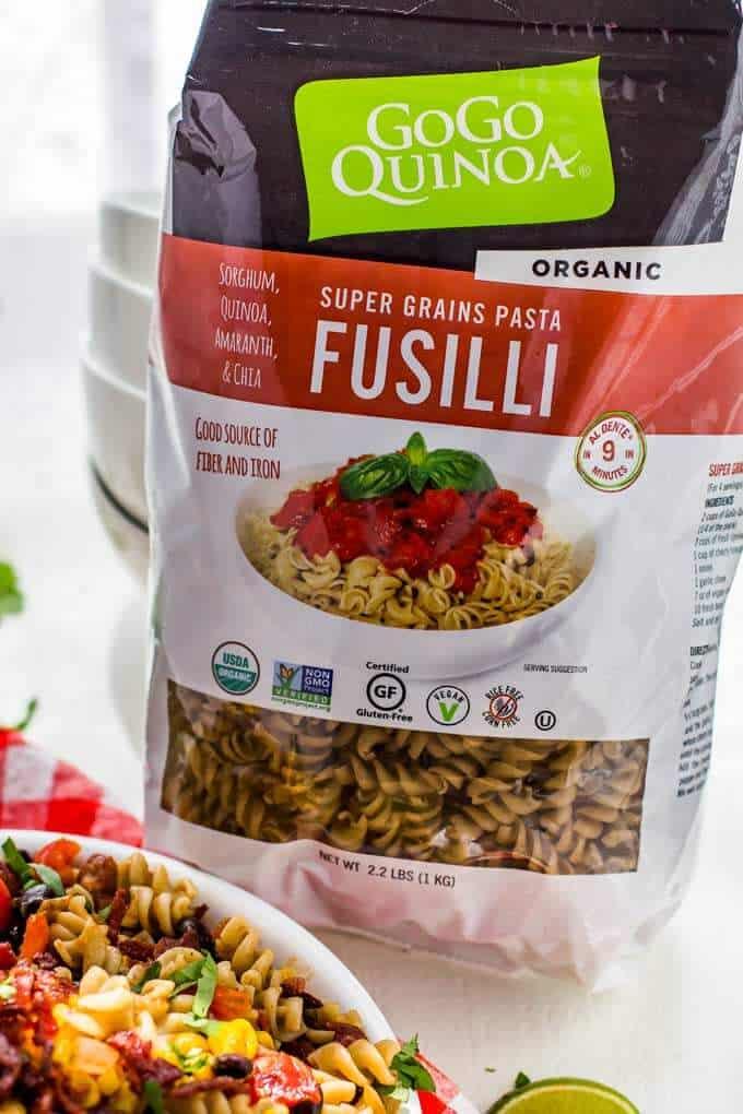 Go Go Quinoa Fusilli