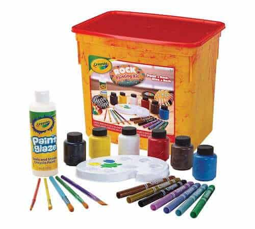 Photo of a Rock Painting Kit