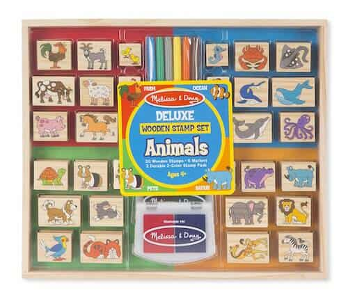 Photo of Deluxe Wooden Stamp Set