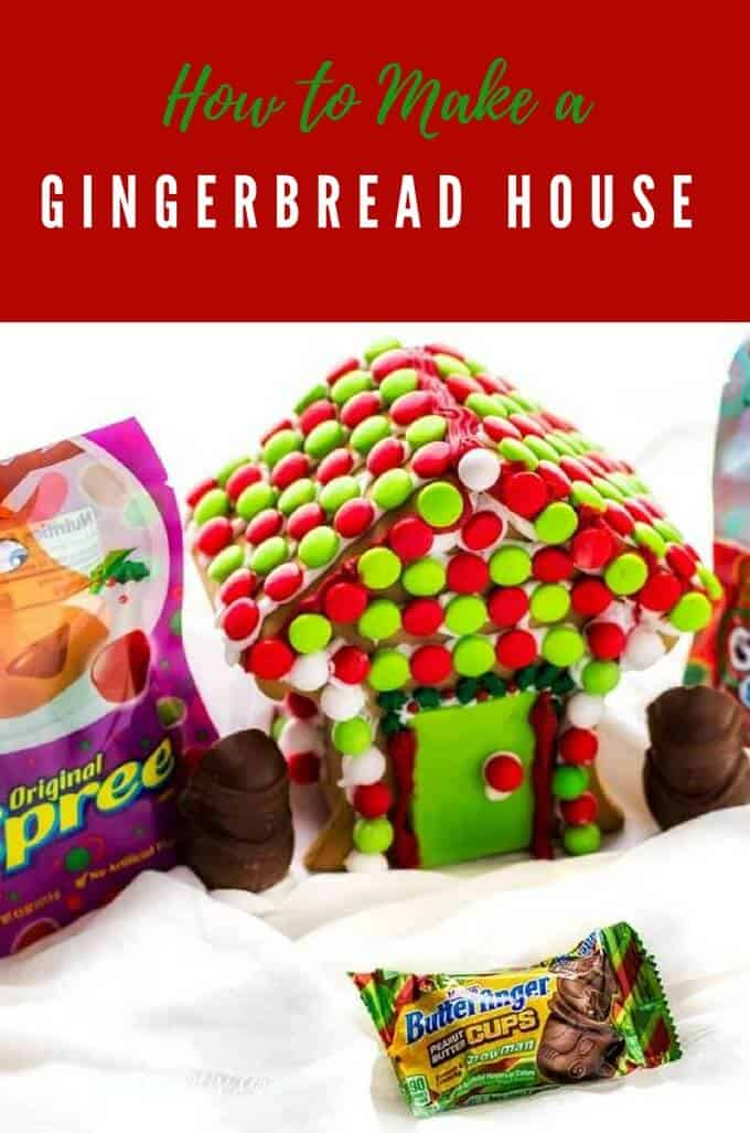 How to make a gingerbread house wendy polisi for How do you make a gingerbread house
