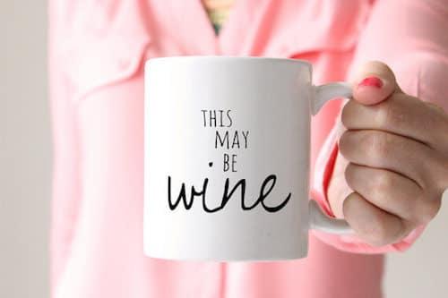 Photo of this may be wine mug