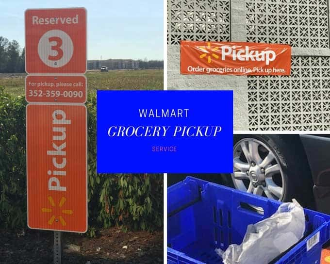 Photo of Walmart Grocery Pick Up Station