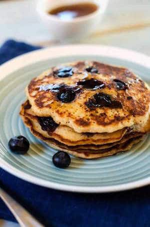 Blueberry Quinoa Pancakes - Gluten Free Recipes for Christmas