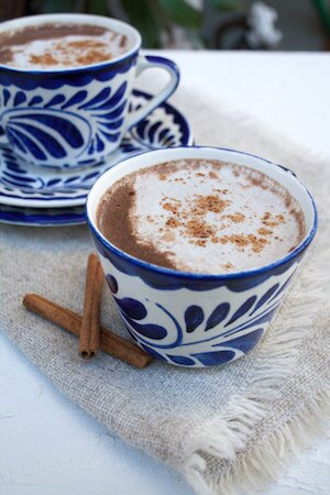 Vegan Mexican Hot Chocolate - Gluten Free Recipes for Christmas