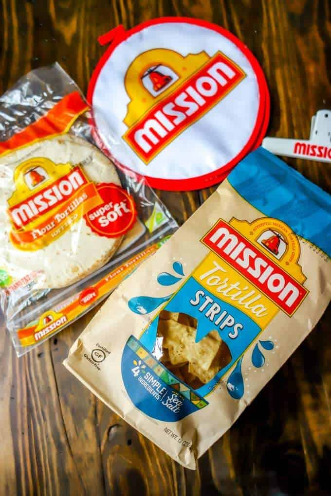 Photo of Mission Tortilla Strips and flour tortillas