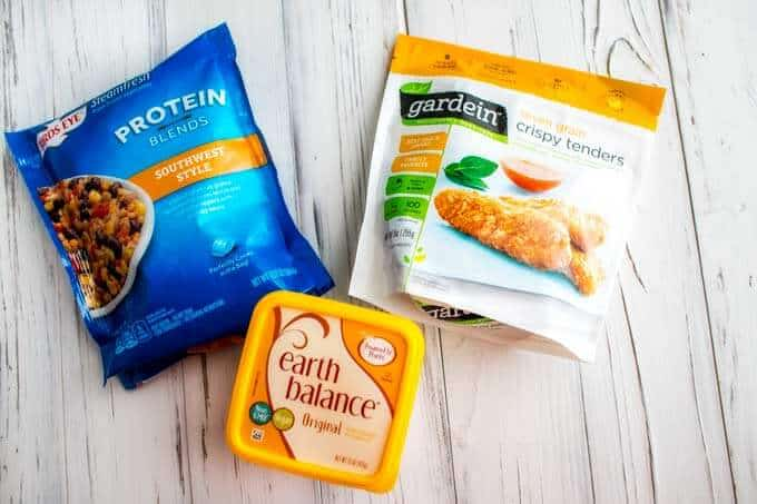 Products used in Southwestern Veggie Wraps
